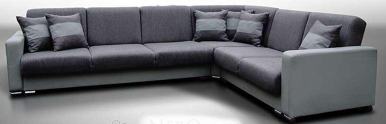 Rohová sedací souprava Nero rozkládací - FALCO