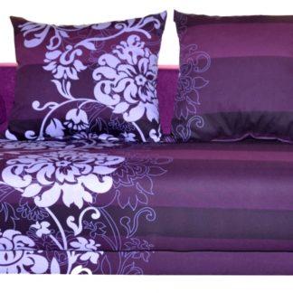 Pohovka Lhasa fialový květ - FALCO