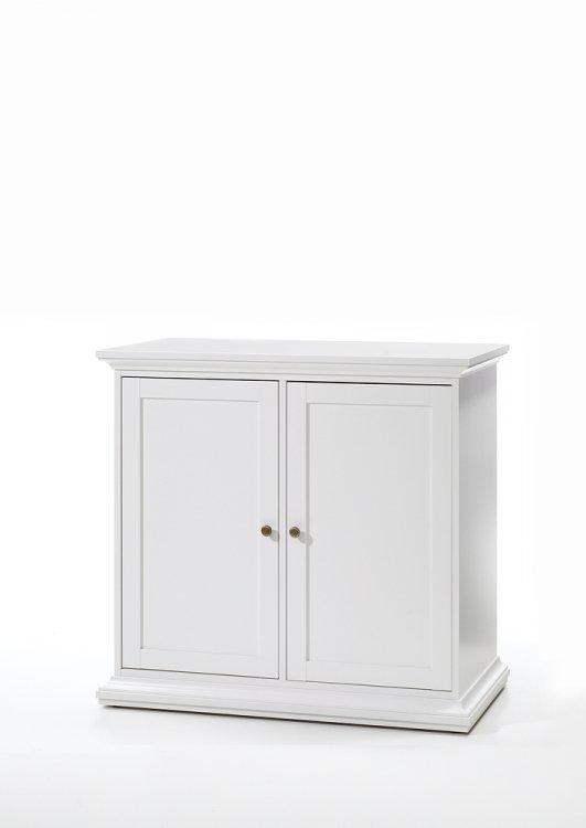 Dvoudveřová komoda Paris  79852 bílá - TVI