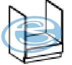 Chamonix skříňka na vestavnou troubu 60DG - FALCO
