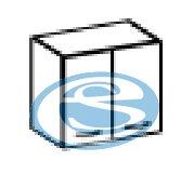 Chamonix horní skříňka 60G - FALCO