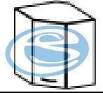 Chamonix horní rohová skříňka 60/60 - FALCO