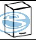 Chamonix horní skříňka 30G - FALCO