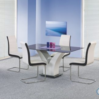 Jídelní stůl Vesper černý - HALMAR