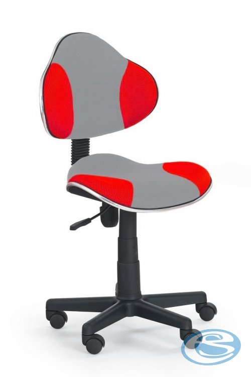 Dětská židle Flash Q-G2 šedo-červená - FALCO