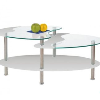 Konferenční stolek Sámos bílý - FALCO
