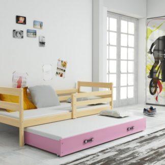 Dětská rozkládací postel Eryk II 90x200 borovice - BM