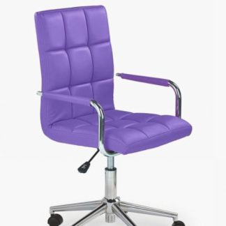Halmar Židle Gonzo 2, fialová - HALMAR