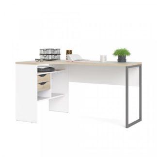 Psací stůl Function Plus 80118 bílá/dub - TVI