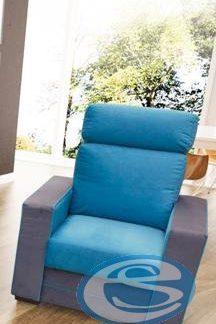 Křeslo Maxx modro-šedé - FALCO