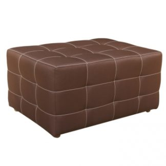 Taburet Kazara čokoládový velký - TempoKondela