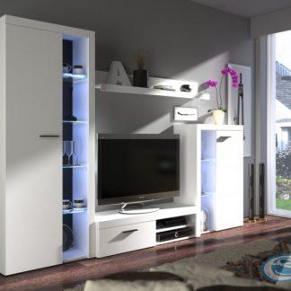Obývací stěna Rumba bílá - FALCO