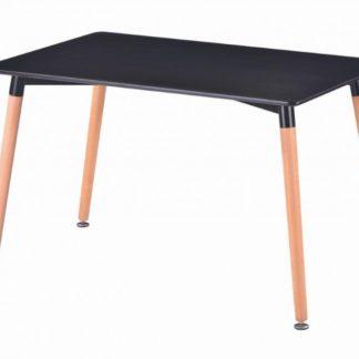 Jídelní stůl Nolan DT04 120x80 černá - FALCO