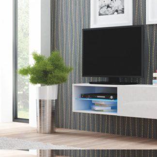 TV stolek závěsný Livo RTV-120W bílý - HALMAR