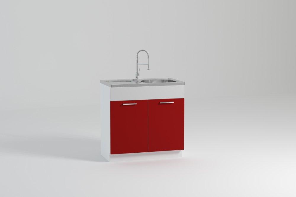 Kuchyňská skříňka Atractive ZL80 2D1B dřezová - FALCO