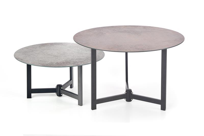Konferenční stolek Twins - HALMAR