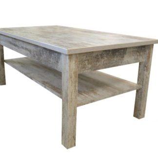 Konferenční stolek Samba bílá borovice - JUREK
