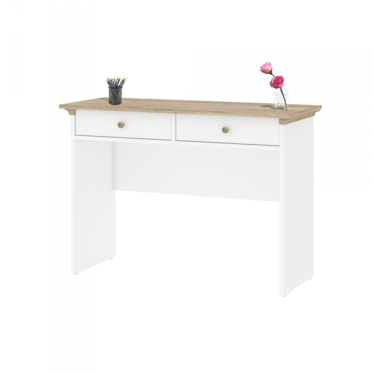 Toaletní stolek Paris 75357 bílá/dub - TVI