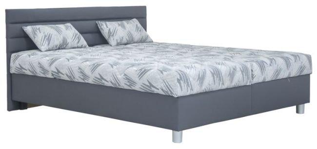 Čalouněná postel Spa 180x200 grey - BLANAŘ