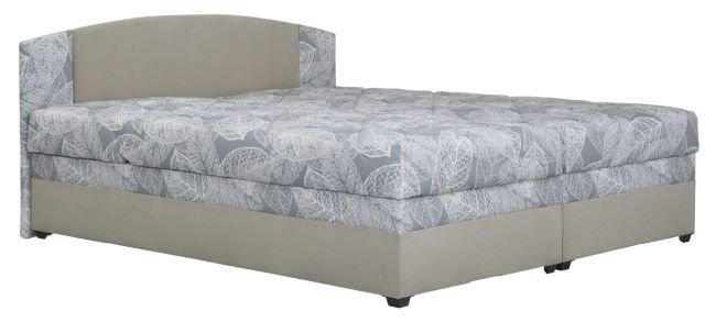 Čalouněná postel Kappa Serena 1 Milano 180x200 - BLANAŘ