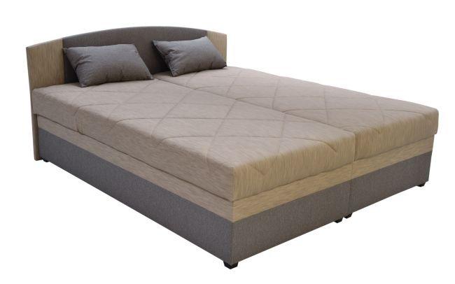Čalouněná postel Kappa Tribeca Beige 160x200 - BLANAŘ