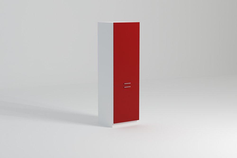 Kuchyňská skříňka Atractive SL60 potravinová červený lesk - FALCO