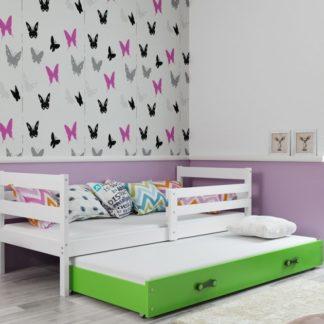 Dětská rozkládací postel Eryk II 90x200 bílá - BM