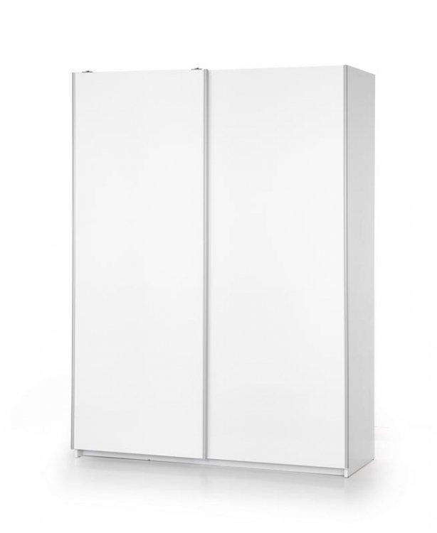 Šatní skříň Lima S1 bílá - HALMAR