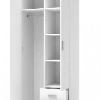 Šatní skříň Lima S2 bílá - HALMAR