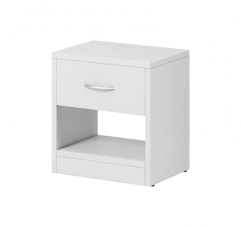 Noční stolek Nea 1S bílý - FALCO