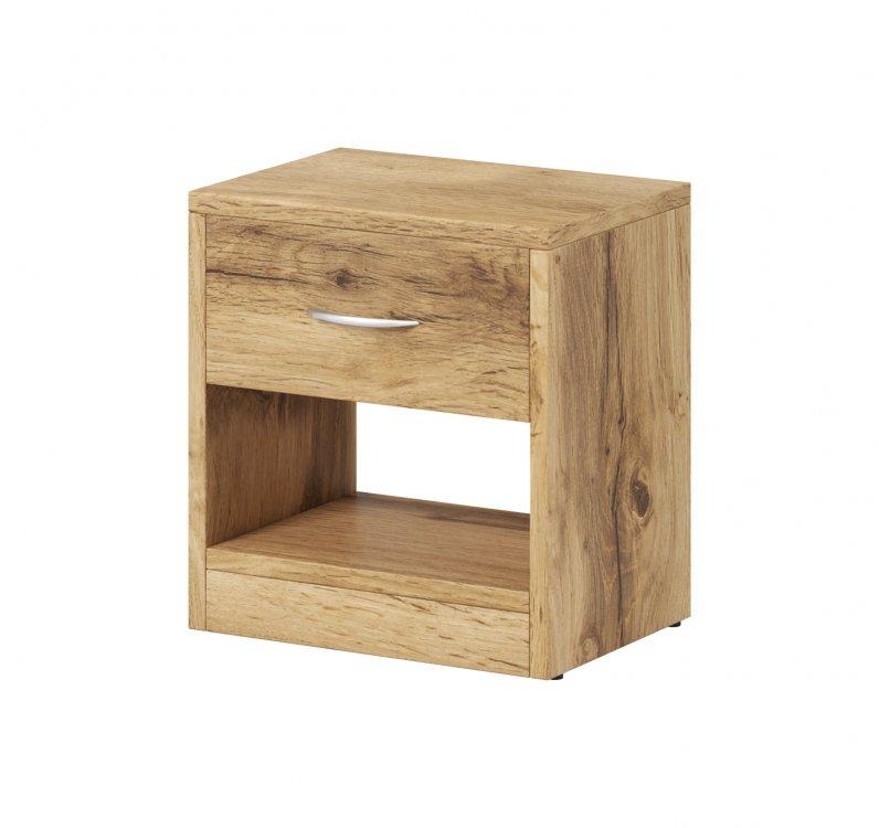 Noční stolek Nea 1S dub wotan - FALCO