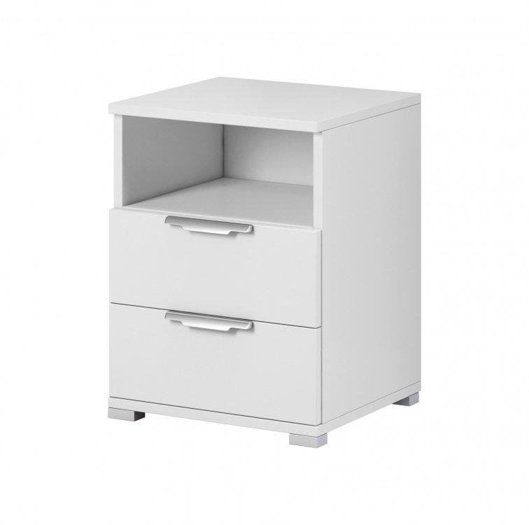 Noční stolek Nea 2S bílý - FALCO