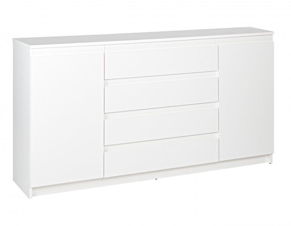 Komoda Deta 2d4s XL bílá - FALCO
