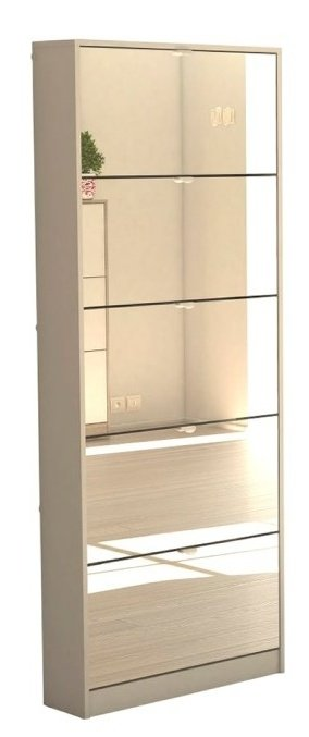 Botník se zrcadlem Bright 70052 dub sonoma - TVI