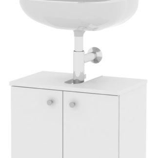 SIMONA, skříňka pod umyvadlo SI02, bílá