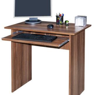 Jednoduchý  PC stůl TWIST, švestka