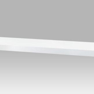 Nástěnná polička P-005 WT2, 80cm, barva bílá