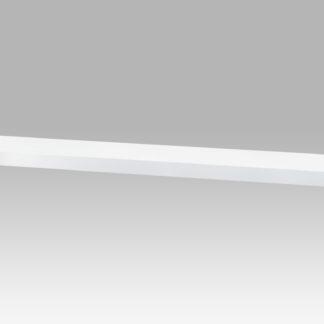 Nástěnná polička P-002 WT2, 120cm, barva bílá