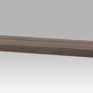 Nástěnná polička 60cm P-001 SON2, dub sonoma tmavý
