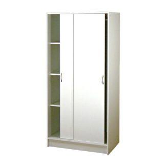 Skříň s posuvnými dveřmi 5223, bílá
