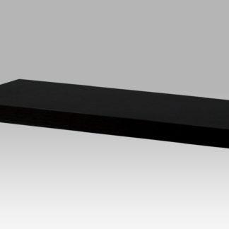 Nástěnná polička P-001 BK (WAL), 60 cm, barva ořech