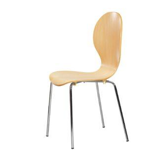 Stohovatelná židle SHELL 888, buk