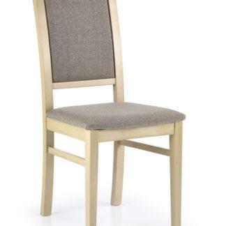 Jídelní židle SYLWEK 1, dub sonoma/látka
