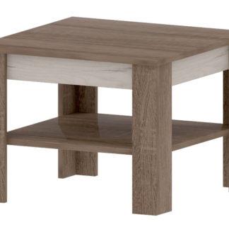VN 3 - VENECIA A, konferenční stolek, dub sonoma truflový/dub craft bílý
