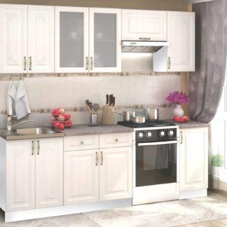 Kuchyně VICTORIE 180/240 cm, bílý santál