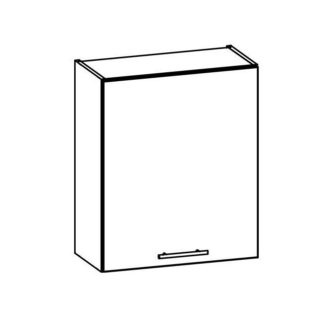 T8/G60 - TIFFANY, horní skříňka G60, bílý lesk