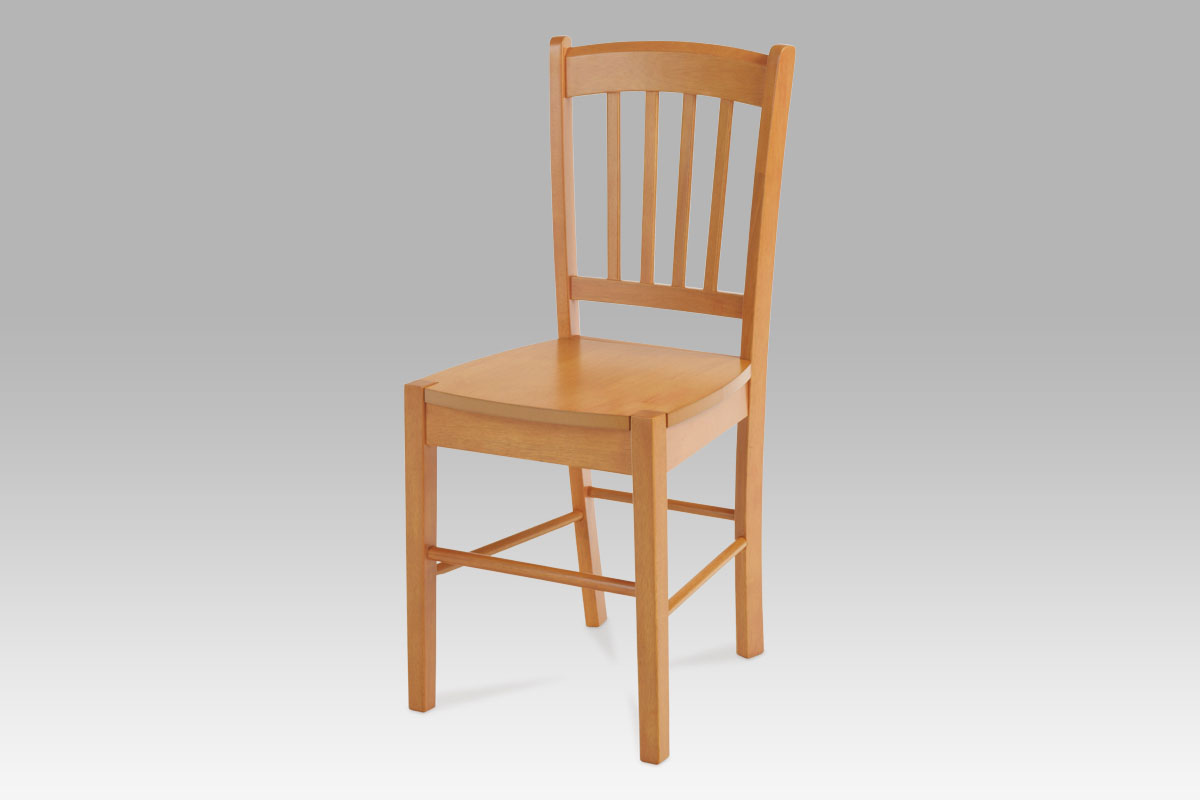 Jídelní židle celodřevěná AUC-005 OL, olše