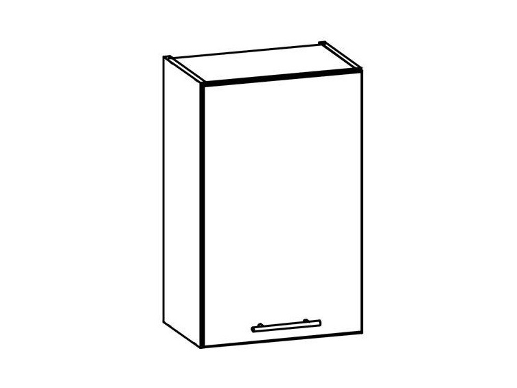 T4/G45 - TIFFANY, horní skříňka G45, bílý lesk