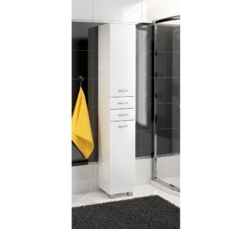 Koupelnová skříňka vysoká NEJBY C30, bílá