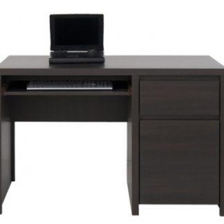 Elegantní KASPIAN PC stůl,  BIU1D1S/120, wenge